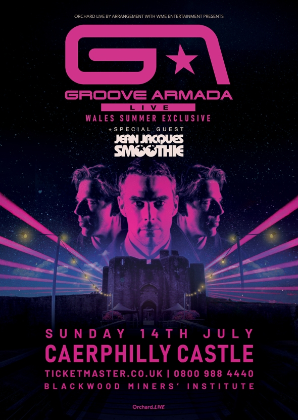 Groove Armada at Caerphilly Castle